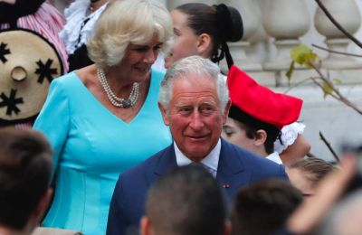 Prince Charles and the Duchess of Cornwall in Athens trip