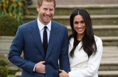 When Meghan met Harry