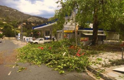 May weather overwhelms Limassol district in Cyprus causing power outages and traffic problems