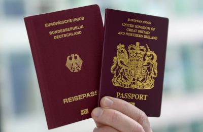 Brits dash for German passports