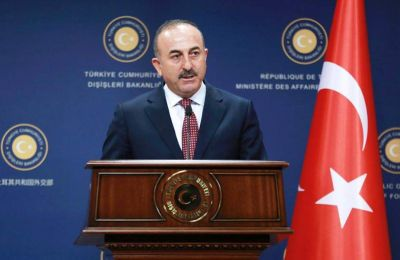 """The courts there obviously don't listen to the government, but we know that they decided after coming under pressure from the EU,"" Cavusoglu said"