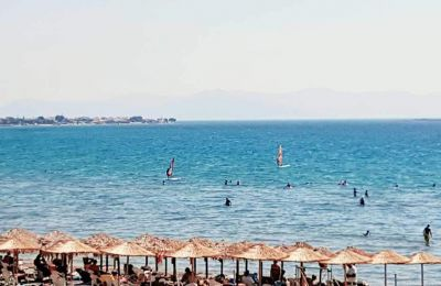 Attica also received dozens of Blue Flags this year for its beaches