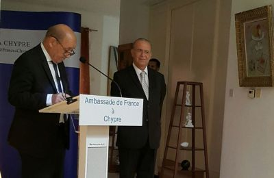 France awards former foreign minister of Cyprus the medal of the National Order of the Legion of Honour