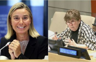 Mogherini and Lutte discuss EU role in the Cyprus peace process