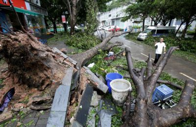 Dealing with the aftermath of Typhoon Mangkhut in Southeast Asia and Tropical storm Florence in the US