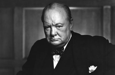 Finance Minister tweets Winston Churchill