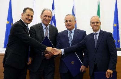 Italy committed to the EastMed pipeline project