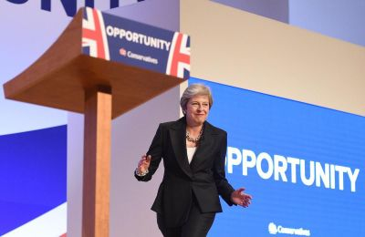 UK Prime Minister Theresa May defends Brexit plan after dancing on stage (video)