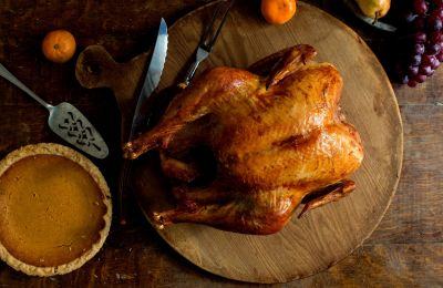 Thanksgiving recipe: Roast Turkey With Garlic and Anchovies