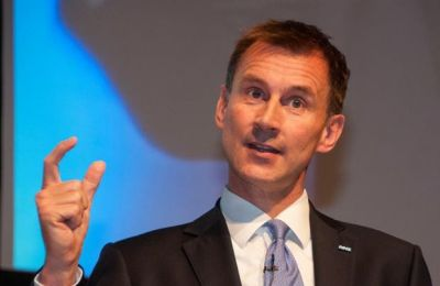British Foreign Minister Jeremy Hunt