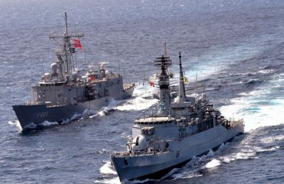 Turkey conducts live fire drill south of Cyprus