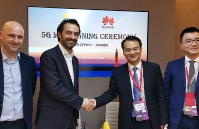 MTN Cyprus and Huawei signed an MoC in Barcelona to jointly explore a transition to 5G network