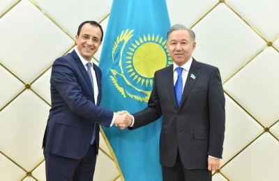 Cyprus and Kazakhstan sign double taxation avoidance agreement