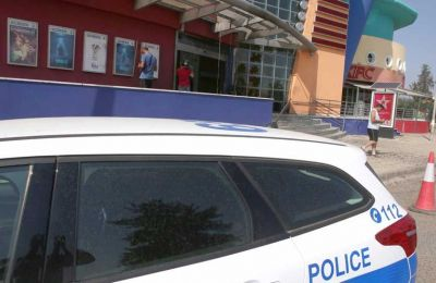 Nicosia authorities responded to an explosion and fire at the Cineplex in Engomi early Wednesday morning