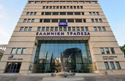 Hellenic Bank posts profit of €59.1 million in first half of 2019