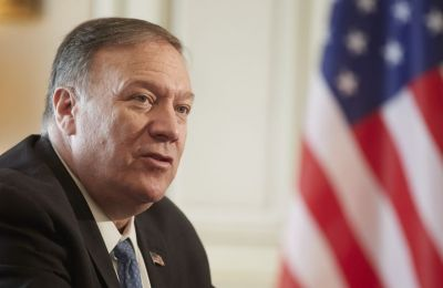 US Secretary of State Mike Pompeo worried about tension in the Aegean