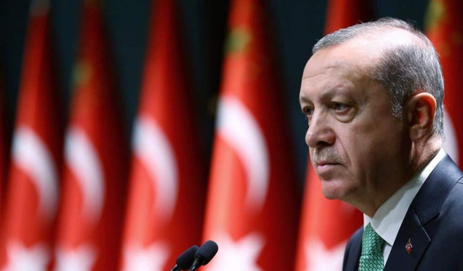 In a speech he  also made clear Turkey would not halt its offensive despite the widespread condemnation it has drawn