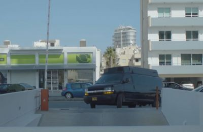 Akel perturbed over surveillance vehicle in Larnaca shown off in a recent Forbes video