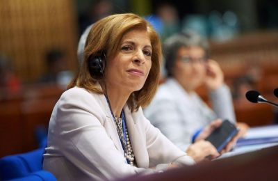 Cyprus' new Commissioner presents her goals and priorities in Strasbourg