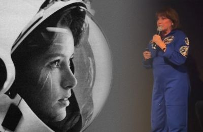 Retired NASA astronaut Anna Lee Fisher helps Cyprus celebrate 50th anniversary since man landed on moon