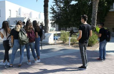 Limassol police arrest a high school teacher and a parent in two separate assault cases (photo archive)
