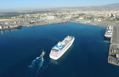Cypriot minister asks Limassol's port manager to squeeze in more cruise ships (photo credit: DP World)