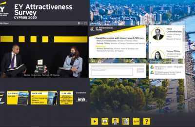 EY presents key findings and recommendations of first EY Attractiveness Survey Cyprus 2020 in a Digital Event