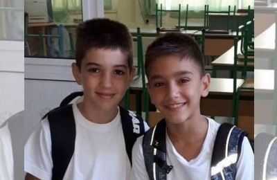 Larnaca police on high alert Tuesday with road blocks and helicopters to locate two missing school boys
