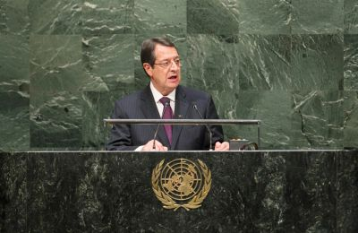 Watch: President Anastasiades addresses the UN Assembly