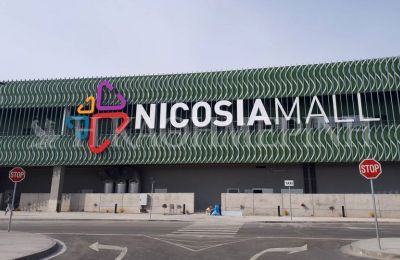A new mall opens on Wednesday morning in west Nicosia just before shopping holiday fever