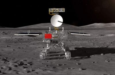 China's Chang'e-4 touches down on the far side of the moon