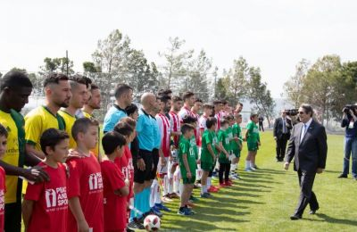 Football diplomacy in divided Cyprus