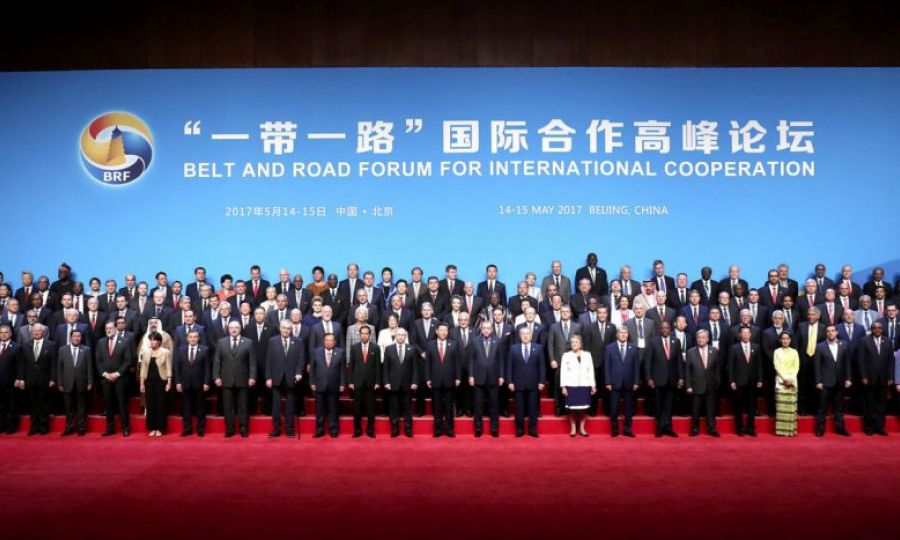 President in Beijing for Belt and Road Forum , KNEWS