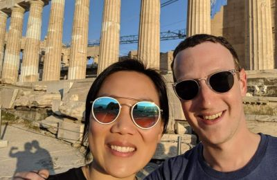 Facebook's Zuckerberg checks in from the Acropolis