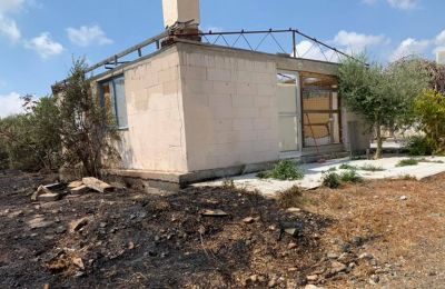 Horrific details emerge about an arson attack at a local dog shelter, while a fire was averted outside Akamas