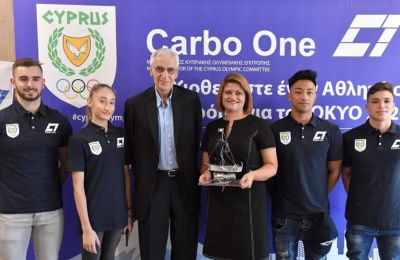 It's official! Major Sponsor of the 2020 Olympic Games in Tokyo Cypriot OLYMPIC Team is Carbo One Ltd