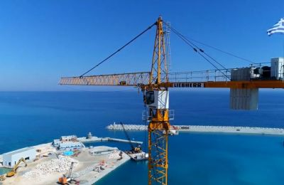 Recent video shows more construction work needed to complete marina in Ayia Napa