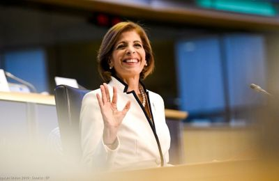 Cypriot breast cancer survivor and commissioner-designate for health advances after hearing