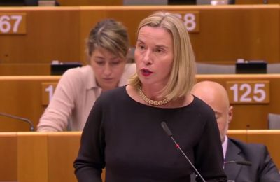 High Representative Federica Mogherini warns that sanctions need to hold up in court in case of appeals