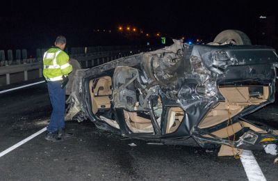 Cypriot police say SUV's black box not found under the hood in highway fatal accident