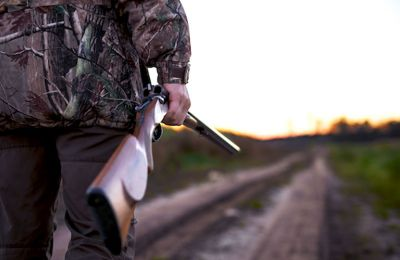 Young man in hospital after friend's hunting rifle discharges unintentionally