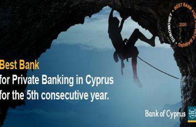 "Bank of Cyprus: The ""Best Bank for Private Banking"""