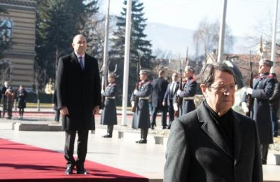 President Anastasiades is in Bulgaria for a two-day official visit