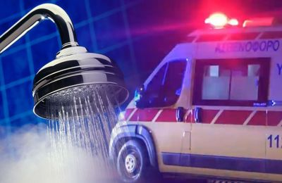 Man in Limassol injured after water heater explodes while taking a shower, cause not yet clear