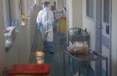 Greek hospitals are treating 92 coronavirus patients who are in critical conditon