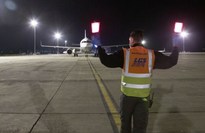 Flight from China arrives at Larnaca's old airport with 17 tonnes of urgently needed medical supplies