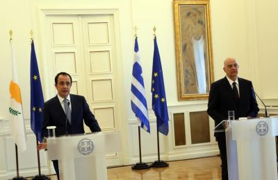 Christodoulides stressed that the current period is extremely crucial in view of the forthcoming EU Foreign Affairs Council