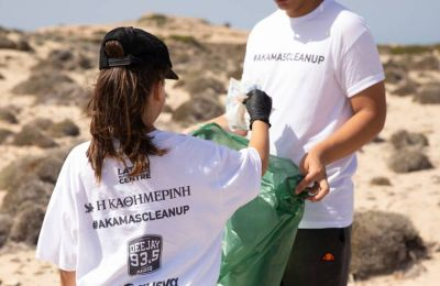 Around 70 volunteers gathered on Sunday to clear some of the island's most beautiful beaches from rubbish