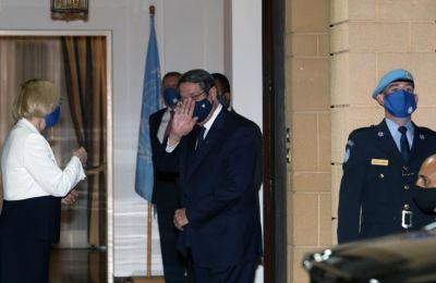 Anastasiades said that he has the political will to attend the meeting, expressing hope that it will create the conditions for a resumption of the dialogue