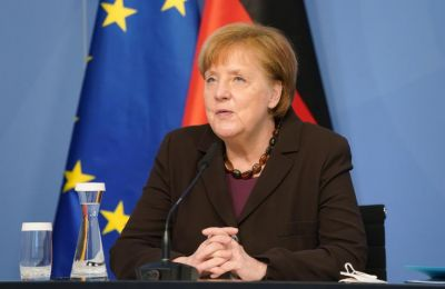 Seibert said during the videoconference with Anastasiades, Merkel expressed her full support for the informal conference on Cyprus set to take place in Geneva at the end of April
